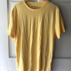 J crew yellow t shirt size M